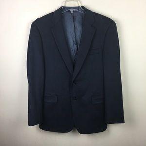 Nautica Navy wool blazer jacket